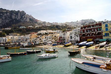 capri: Capri Island Port - Italy