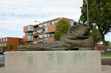 Clown Shoe Statue - 몬트리올 - 캐나다