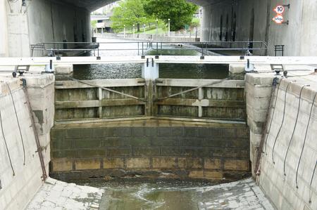 リドー運河ロック - オタワ - カナダ 写真素材 - 61846527