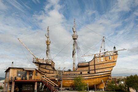 replica: Magellan Replica Ship - Punta Arenas - Chile