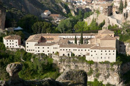 saint paul: Convent of Saint Paul - Cuenca - Spain Stock Photo