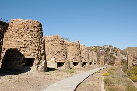 brick kiln: Calcination Kilns - Lucainena de las Torres - Spain