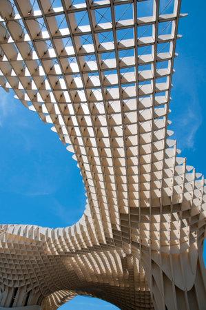 parasol: Metropol Parasol - Seville - Spain Editorial