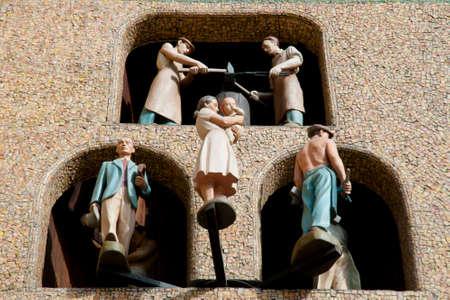 olomouc: Astronomical Clock Dancing Figures - Olomouc - Czech Republic