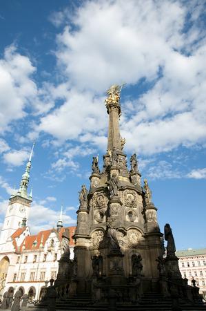 olomouc: Holy Trinity Column - Olomouc - Czech Republic