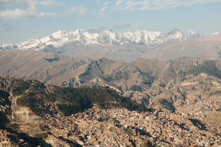 bolivia: La Paz City - Bolivia Stock Photo