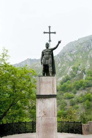 covadonga: Statue of Pelayo - Covadonga - Spain