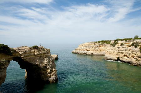 algarve: Albandeira Cliffs - Algarve - Portugal