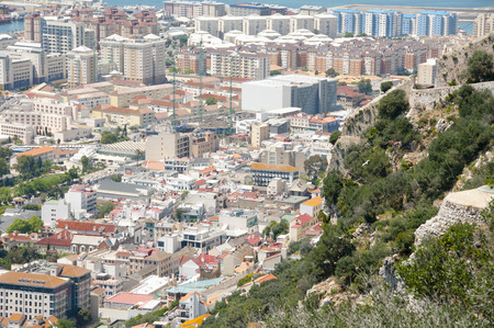 reclamation: West Side of Gibraltar City