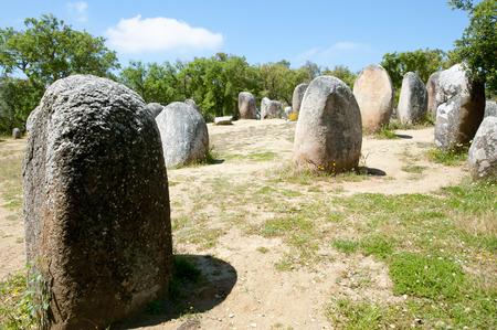 Cromlech of the Almendres - Evora - Portugal
