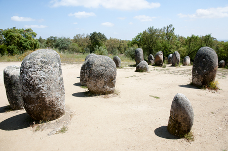 senhora: Cromlech of the Almendres - Evora - Portugal
