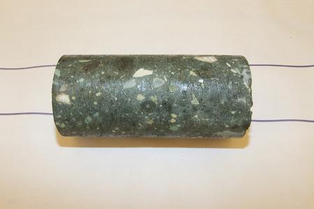 Diamondiferous Kimberlite Rock