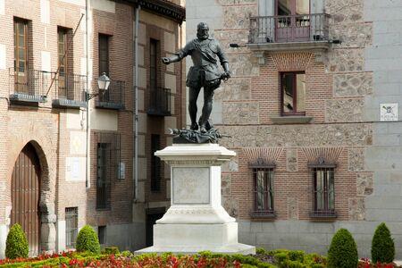 Don Alvaro de Bazan Statue - Madrid - Spain