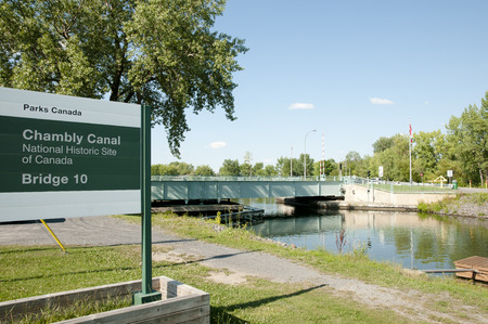 canal: Chambly Canal - Quebec - Canada