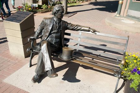 macdonald: First Prime Minister Sir John A. Macdonald Statue - Charlottetown - Canada