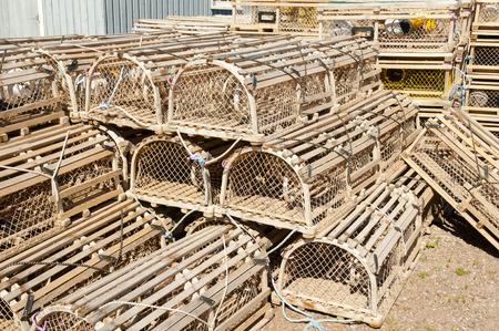 Lobster Traps in North Rustico - Prince Edward Island - Canada
