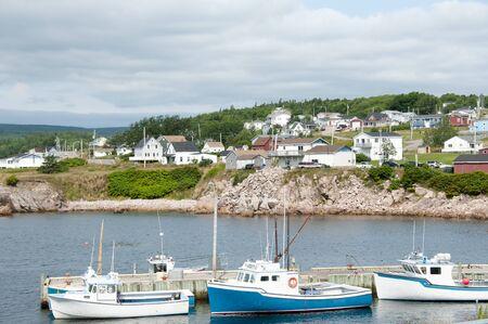 scotia: Neils Harbor - Nova Scotia - Canada Stock Photo