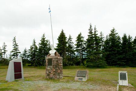scotia: Cabot Landing - Cape Breton - Nova Scotia Stock Photo