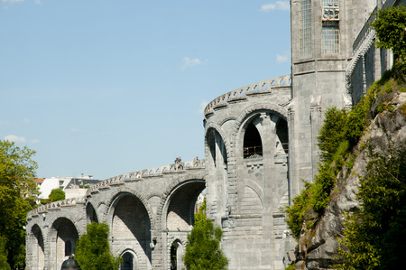 our: Our Lady of Lourdes Sanctuary Basilica - France