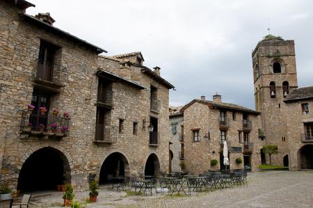 santas village: Ainsa - Spain