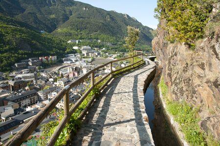 sola: Sola Irrigation Canal - Andorra
