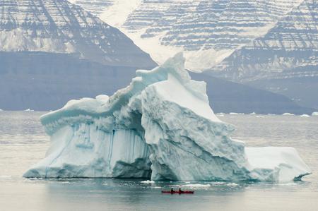 sund: Giant Iceberg- Scoresby Sound - Greenland