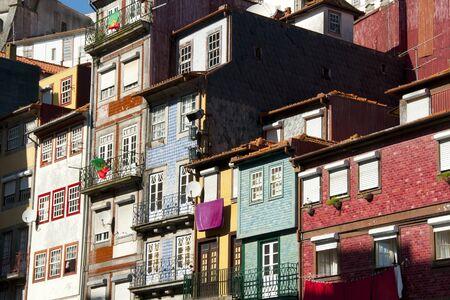 case colorate: Colorful Houses - Porto - Portugal