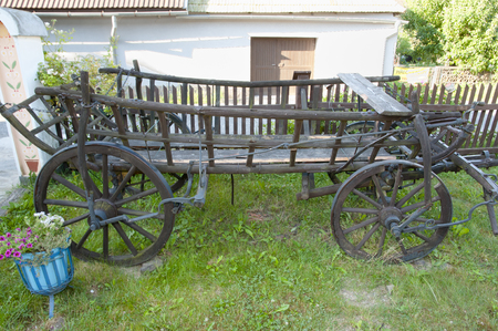 chariot: Old Farming Chariot