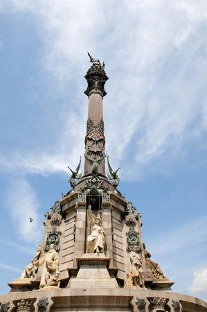 colom: Columbus Monument - Barcelona - Spain