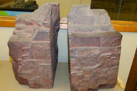 ore: Iron Ore Rich in Hematite Stock Photo