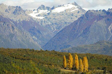 bariloche: Autumn in Bariloche - Argentina Stock Photo