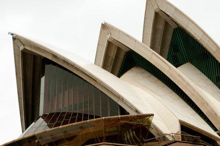 sydney opera house: SYDNEY, AUSTRALIA - November 1, 2010: The Sydney Opera House is a multi-venue arts center designed by Danish architect Jorn Utzon