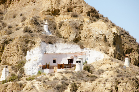 troglodyte: Cave House - Guadix - Spain