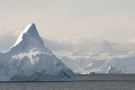 sund: Giant Iceberg - Scoresby Sound - Greenland