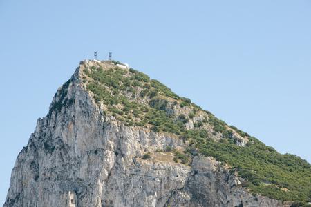 monolith: Rock of Gibraltar Western Face