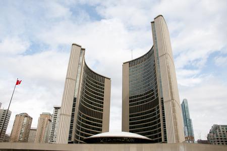City Hall - Toronto - Canada Stok Fotoğraf