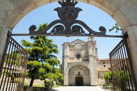 thomas stone: St Thomas Royal Monastery - Avila - Spain