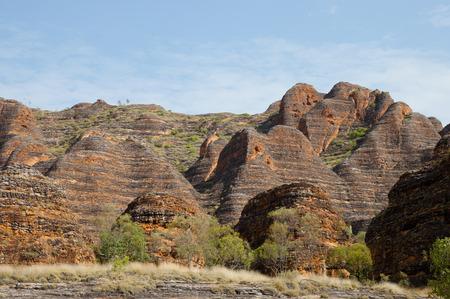 sedimentary: Bungle Bungle Range - Purnululu National Park - Australia