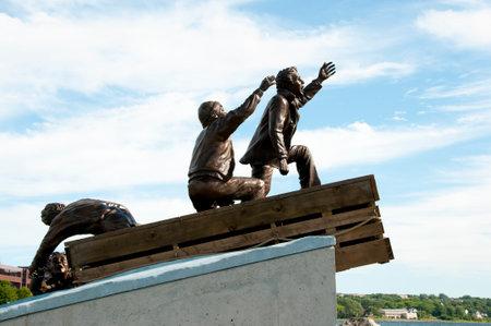 merchant: Merchant Mariner Monument - Sydney - Nova Scotia