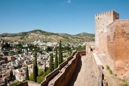 the  alhambra: Alhambra - Granada - Spain Editorial