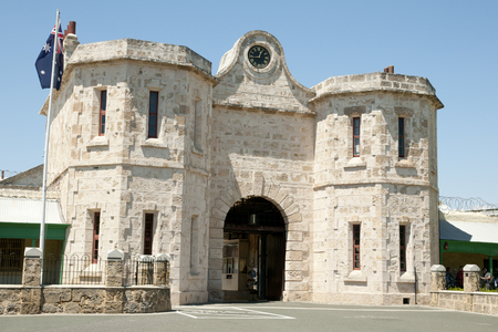 prison: Fremantle Prison Entrance - Australia