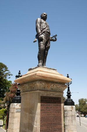 perth: Alexander Forrest Monument - Perth - Australia
