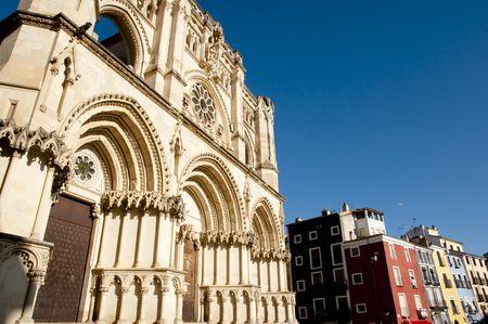 Cuenca Cathedral - Spain Stock Photo