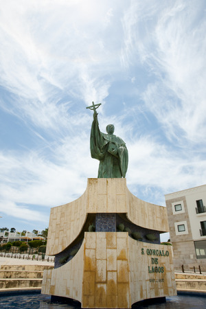 townhomes: Statue of Sao Goncalo - Lagos - Portugal