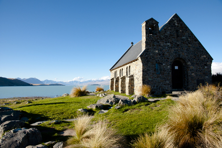 tekapo: Good Shepherd Church - Lake Tekapo - New Zealand