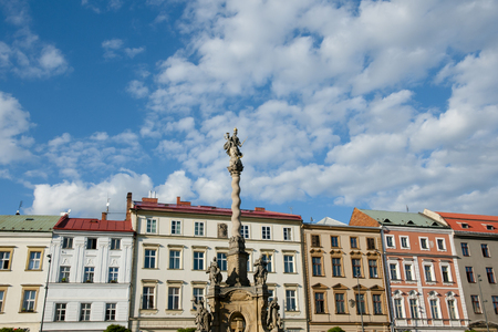 olomouc: Marian Column - Olomouc - Czech Republic Stock Photo