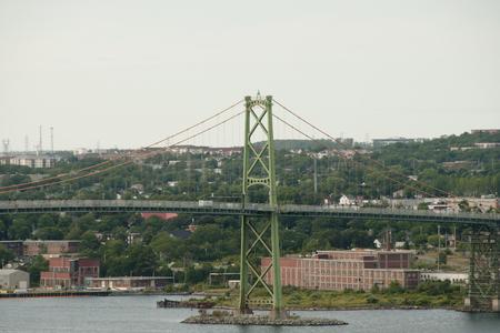 macdonald: Angus L. Macdonald Bridge - Halifax - Nova Scotia