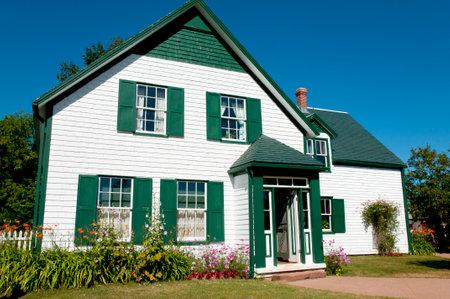 house gables: Anne of Green Gables House - Prince Edward Island - Canada