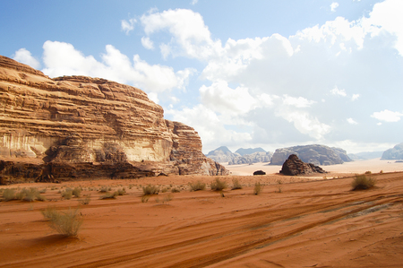 jordan: Wadi Rum - Jordan Stock Photo