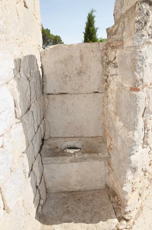 latrine: Medieval Latrine - Girona - Spain